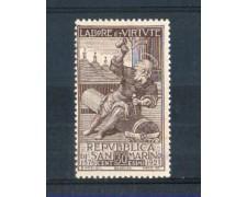 1923 - LOTTO/RSM89L - SAN MARINO - MUTUO SOCCORSO SCALPELLINO LING.