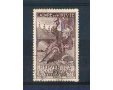 1923 - LOTTO/RSM89U - SAN MARINO - MUTUO SOCCORSO SCALPELLINO USATO
