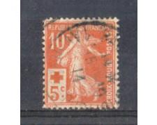 1914 - LOTTO/FRA147U - FRANCIA - 10+5c. PRO CROCE ROSSA USATO