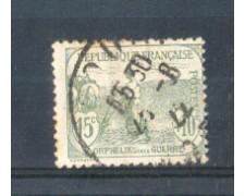 1917/19 - LOTTO/FRA150U - FRANCIA - 15+10c. PRO ORFANI DI GUERRA USATO