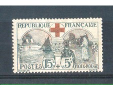 1918 - LOTTO/FRA156LP - FRANCIA - 15+5c. PRO CROCE ROSSA LING.
