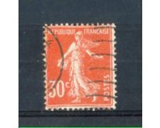 1921 - LOTTO/FRA160U - FRANCIA - 30c. ROSSO SEMINATRICE USATO