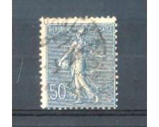 1921 - LOTTO/FRA161U - FRANCIA - 50c. AZZURRO  SEMINATRICE USATO
