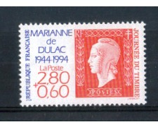 1994 - LOTTO/FRA2854N - FRANCIA - GIORNATA DEL FRANCOBOLLO NUOVO