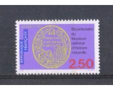 1993 - LOTTO/FRA2804 - FRANCIA - MUSEO DI STORIA NATURALE 1v. NUOVO