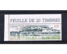 1993 - LOTTO/FRA2793N - FRANCIA - TURISTICA CHINON 1v. NUOVO