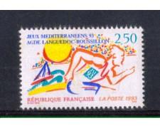 1993 - LOTTO/FRA2787 - FRANCIA - GIOCHI DEL MEDITERRANEO 1v. NUOVO