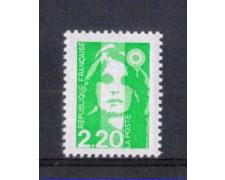 1993 - LOTTO/FRA2783 - FRANCIA - 2,20 Fr. VERDE MARIANNA NUOVO