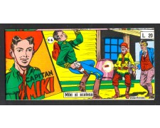 1955 - LOTTO/FUMET5 - FUMETTI - COLLANA SCUDO N°14 CAPITAN MIKI - MIKI SI SCATENA