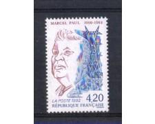 1992 - LOTTO/FRA2771 - FRANCIA - MARCEL PAUL 1v. NUOVO