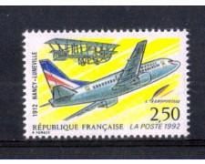 1992 - LOTTO/FRA2770 - FRANCIA - PRIMO VOLO POSTA AEREA 1v. NUOVO