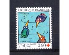 1992 - LOTTO/FRA2776 - FRANCIA - PRO CROCE ROSSA 1v. NUOVO