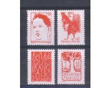 1992 - LOTTO/FRA2768CPN - FRANCIA - BICENTENARIO REPUBBLICA 4v. NUOVI