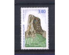 1992 - LOTTO/FRA2756 - FRANCIA - PRIMA ASCENSIONE MONTE AIGUILLE 1v. NUOVO
