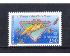 1992 - LOTTO/FRA2752 - FRANCIA - CONGRESSO SOCIETA' FILATELICHE 1v. NUOVO