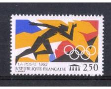 1992 - LOTTO/FRA2739 - FRANCIA - OLIMPIADI DI BARCELLONA 1v. NUOVO