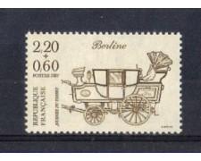 1987 - LOTTO/FRA2465 - FRANCIA - GIORNATA FRANCOBOLLO 1v. NUOVO