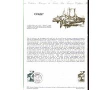 1981 - LOTTO/FRA2163DOC - FRANCIA - CREST  DOC. FILATELICO