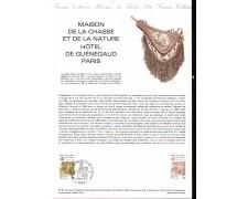 1981 - LOTTO/FRA2171DOC - FRANCIA - MUSEO DELLA CACCIA E DELLA NATURA DOC. FILATELICO