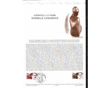 1983 - LOTTO/FRA2267DOC - FRANCIA - GIORNATA DELLA DONNA - DOC. FILATELICO