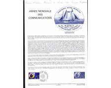 1983 - LOTTO/FRA2268DOC - FRANCIA  - ANNO DELLE COMUNICAZIONI - DOC.FILATELICO
