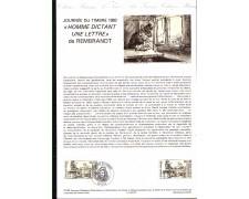 1983 - LOTTO/FRA2266DOC - FRANCIA - GIORNATA DEL FRANCOBOLLO - DOC. FILATELICO