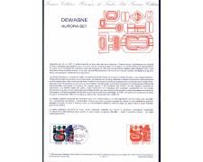 1983 - LOTTO/FRA2271DOC - FRANCIA - 4 Fr. DEWASNE - DOC. FILATELICO