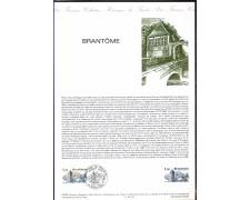 1983 - LOTTO/FRA2259DOC - FRANCIA - BRANTOME - DOC.FILATELICO
