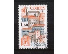 1980 - LOTTO/FRA2081U - FRANCIA - 1,50 Fr. CORDES - USATO