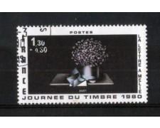 1980 - LOTTO/FRA2078U - FRANCIA -  GIORNATA FRANCOBOLLO - USATO