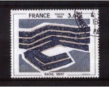 1980 - LOTTO/FRA2075U - FRANCIA - RAOUL UBAC - USATO