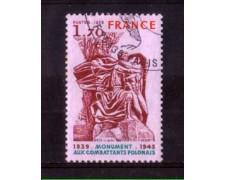1978 - LOTTO/FRA2021U - FRANCIA - COMBATTENTI POLACCHI - USATO