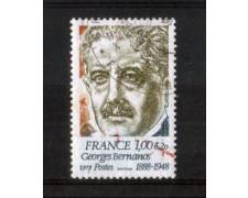 1978 - LOTTO/FRA1987U - FRANCIA -  GEORGES BERNANOS- USATO