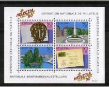 1990 - LOTTO/SVIBF26N - SVIZZERA - GENEVE 90  FOGLIETTO NUOVO