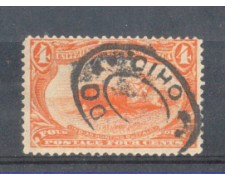 1898 - LOTTO/USA151U - STATI UNITI - 4c. TRANS-MISSISSIPPI - USATO