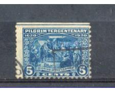 1920 - LOTTO/USA369UV - STATI UNITI -  5c. MAYFLOWER  - USATO