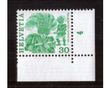1982 - LOTTO/23607 - SVIZZERA - 30c. TRADIZIONI - NUOVO
