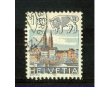 1982 - LOTTO/SVI1159U - SVIZZERA - 1,50 Fr. ZODIACO - USATO