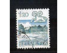 1982 - LOTTO/SVI1158U - SVIZZERA - 1,20 Fr. ZODIACO ARIETE - USATO