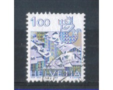 1982 - LOTTO/SVI1156U - SVIZZERA - 1 Fr. ZODIACO ACQUARIO - USATO