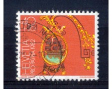 1982 - LOTTO/SVI1153U - SVIZZERA - 40+20 PRO PATRIA - USATO