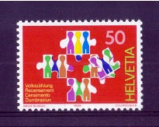 1990 - LOTTO/SVI1363N - SVIZZERA - 50c. CENSIMENTO - NUOVO