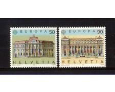 1990 - LOTTO/SVI1348CPN - SVIZZERA - EUROPA 2v. - NUOVI