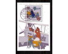 1997 - LOTTO/GFBF40U - GERMANIA - GIORNATA FRANCOBOLLO FOGLIETTO - USATO