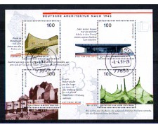 1997 - LOTTO/GFBF36U - GERMANIA - ARCHITETTURA  FOGLIETTO - USATO