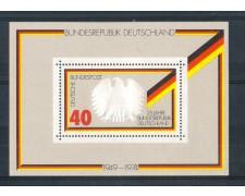 1974 - LOTTO/GFBF9N- GERMANIA - ANNIVERSARIO REPUBBLICA FOGLIETTO - NUOVO