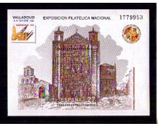 1992 - LOTTO/SPABF59N - SPAGNA - EXFILNA 92 - FOGLIETTO