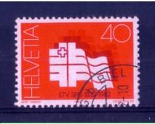 1982 - LOTTO/SVI1144U - SVIZZERA - 40c. SOC. GINNASTICA - USATO