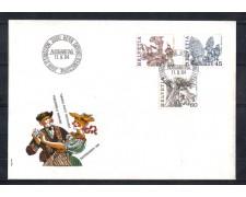 1984 - LOTTO/SVI1211FDC - SVIZZERA - TRADIZIONI POPOLARI - BUSTA FDC