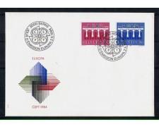 1984 - LOTTO/SVI1200FDC - SVIZZERA - EUROPA - BUSTA FDC